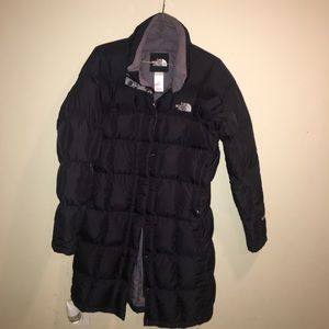 The North Face black Metropolis 600 Parka puffer